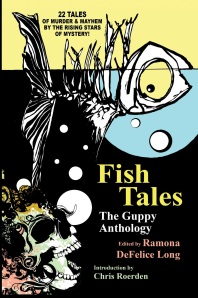 "Nancy's short story ""The Secret of the Red Mullet"" is published in Fish Tales : the Guppy Anthology (Wildside Press)."