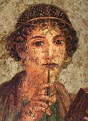 Images, pompei 128px-Pompei_-_Sappho_-_MAN